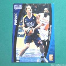 Coleccionismo deportivo: (51.7) CROMO PANINI - ACB 2008-2009 - (MMT ESTUDIANTES) - N°177 POPOVIC. Lote 255431815