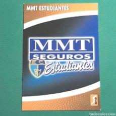 Coleccionismo deportivo: (51.7) CROMO PANINI - ACB 2008-2009 - (MMT ESTUDIANTES) - N°163 ESCUDO. Lote 255431965