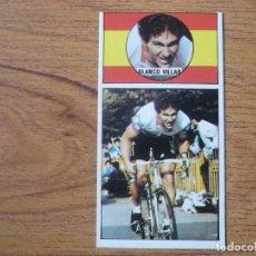 Coleccionismo deportivo: CROMO CICLISMO ASES DEL PEDAL MERCHANTE 1987 Nº 5 JESUS BLANCO VILLAR (TEKA) SIN PEGAR - VUELTA 87. Lote 255434140