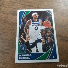 Coleccionismo deportivo: D' ANGELO RUSSELL. TIMBERWOLVES. STICKER N° 395. NBA. 2020, 21. 2021.. Lote 257298145