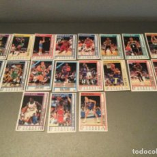 Coleccionismo deportivo: LOTE CROMOS BALONCESTO BASKET NBA 1991 ALL STAR CAR. LARRI BIRD,DRAZEN PETROVIC, ETC CARDS. Lote 257695090
