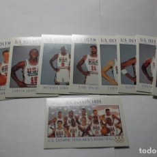 Coleccionismo deportivo: U.S. OLYMPICARDS 1992 COLETION 120 CARDS. LARRY BIRD, MAGIC JOHNSON,MICHAEL JORDAN, LANCE ARMSTRONG. Lote 258246975