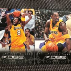 Coleccionismo deportivo: 2 CARDS CROMOS BALONCESTO NBA KOBE BRYANT LAKERS. Lote 260830965