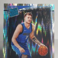 Coleccionismo deportivo: EXCEPCIONAL LOTE X8 NBA LUKA DONCIC ROOKIE PANINI 177 OPTIC SHOCK+ STICKER 428 + ADRENALYN + 5 MÁS. Lote 261241835