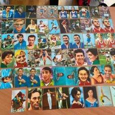 Coleccionismo deportivo: LOTE 62 CROMOS ALTELAS MEXICO 68 NUNCA PEGADOS (CRIP5). Lote 261261480