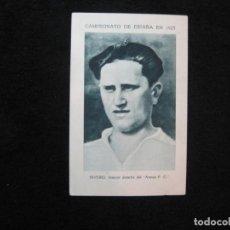 Coleccionismo deportivo: RIVERO-ARENAS FC-CAMPEONATO ESPAÑA 1925-CROMO DE FUTBOL-VER FOTOS-(80.444). Lote 262300205