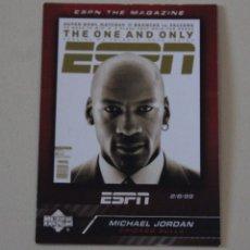 Coleccionismo deportivo: CROMO MICHAEL JORDAN. UPPER DECK SPECIAL ESPN THE MAGAZINE. CHICAGO BULLS. NBA. Lote 263549535