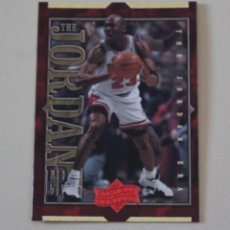 Coleccionismo deportivo: CROMO MICHAEL JORDAN. UPPER DECK. ATHLETE OF THE CENTURY. CHICAGO BULLS. NBA. Lote 263550810