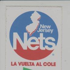 Coleccionismo deportivo: LOTE B-PEGATINA BALONCESTO NBA NETS BASKET. Lote 265201264