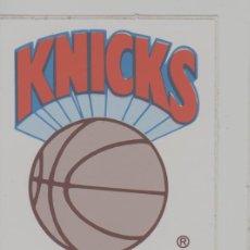 Coleccionismo deportivo: LOTE B-PEGATINA BALONCESTO NBA KNICKS BASKET. Lote 265201389