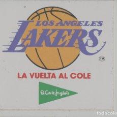 Coleccionismo deportivo: LOTE B-PEGATINA BALONCESTO NBA LAKERS BASKET. Lote 265201714