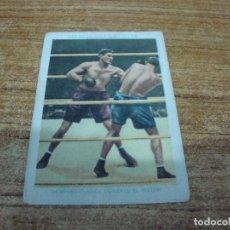 Coleccionismo deportivo: CROMO CHOCOLATES AMATLLER BOXEO Nº 32. Lote 265838544