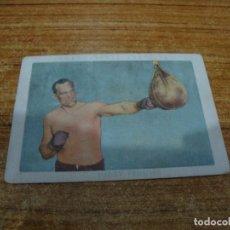 Coleccionismo deportivo: CROMO CHOCOLATES AMATLLER BOXEO Nº 34. Lote 265838944
