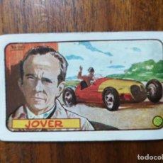 Coleccionismo deportivo: CROMO DE LOS AÑOS 50 DE JUAN JOVER SAÑÉS ( PILOTO ESPAÑOL DE FORMULA 1). Lote 266308923