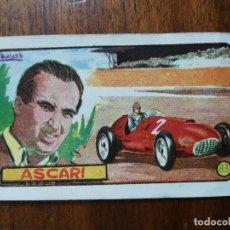 Coleccionismo deportivo: CROMO DE LOS AÑOS 50 DE ALBERTO ASCARI ( SCUDERIA FERRARI ) - PILOTO FÓRMULA 1. Lote 266310208
