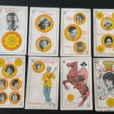 Coleccionismo deportivo: LOTE DE 8 CROMOS - NAIPES (CARTAS) DE OROS - CHOCOLATES ORTHI. Lote 266847669