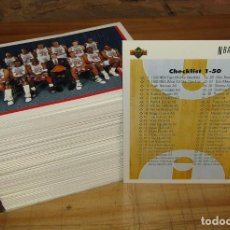 Coleccionismo deportivo: LOTE DE 169 CROMOS NBA 1992 UPPER DECK - TODOS DIFERENTES - JORDAN, RODMAN, PIPPEN, BARKLEY, MAGIC. Lote 267478364