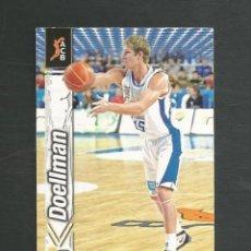Coleccionismo deportivo: CROMO BALONCESTO FICHAS LIGA ACB 10/11 Nº246 DOELLMAN - MERIDIANO ALICANTE. Lote 267543304