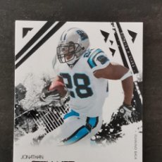 Colecionismo desportivo: PANINI ROOKIES AND STARS 2009 #15 JONATHAN STEWART CAROLINA PANTHERS NFL CARD. Lote 268086269