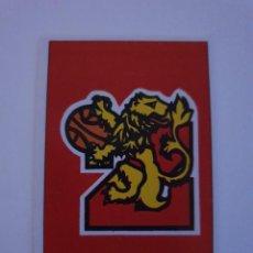 Collezionismo sportivo: MERCHANTE 87-88 CROMO NUEVO NUNCA PEGADO EN BUEN ESTADO Nº 202 CAI ZARAGOZA. Lote 268167369