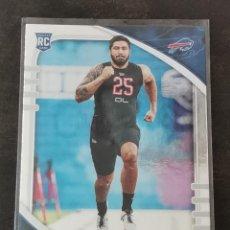 Coleccionismo deportivo: PANINI ABSOLUTE 2020 ROOKIE CARD #101 A. J. EPENESA BUFFALO BILLS NFL CARD. Lote 268950534