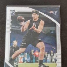 Coleccionismo deportivo: PANINI ABSOLUTE 2020 ROOKIE CARD #122 DALTON KEENE NEW ENGLAND PATRIOTS NFL CARD. Lote 268951099