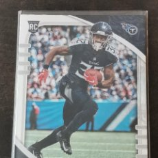 Coleccionismo deportivo: PANINI ABSOLUTE 2020 ROOKIE CARD #127 DARRYNTON EVANS TENNESSEE TITANS NFL CARD. Lote 268951719