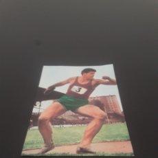 Coleccionismo deportivo: 1968. LANZAMIENTO DE DISCO N° 34. DIFUSORA DE CULTURA. RECUPERADO. Lote 269222353