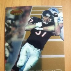 Coleccionismo deportivo: CROMO NÚMERO 37 - NFL - RUGBY - AÑO 1996 - TOPPS BOWMAN´S BEST - CHRIS ZORICH. Lote 269960793