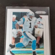 Colecionismo desportivo: PANINI PRIZM 2018 #169 CAM NEWTON CAROLINA PANTHERS NFL CARD. Lote 270253238