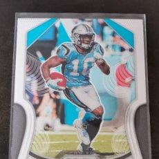 Colecionismo desportivo: PANINI PRIZM 2019 #175 CURTIS SAMUEL CAROLINA PANTHERS NFL CARD. Lote 270357943