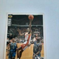 Coleccionismo deportivo: CROMO NBA BALONCESTO STACEY AUGMON. Lote 270369473