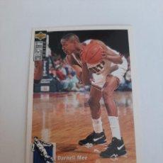 Coleccionismo deportivo: CROMO NBA BALONCESTO DARNELL MEE. Lote 270371383