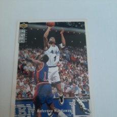 Coleccionismo deportivo: CROMO NBA BALONCESTO ANFERNEE HARDAWAY. Lote 270371863