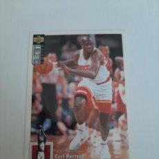 Coleccionismo deportivo: CROMO NBA BALONCESTO CARL HERRERA. Lote 270372693