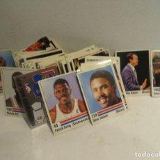 Colecionismo desportivo: PANINI BASKET NBA 89 LOTE DE 220 CROMOS MUY BUEN ESTADO,NUNCA PEGADOS. Lote 270400643