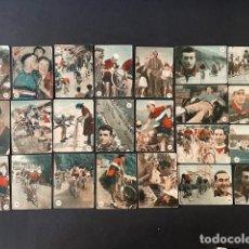 Coleccionismo deportivo: LOTE DE ANTIGUOS CROMO DE CICLISMO FHER. Lote 275862813