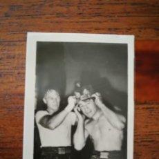 Coleccionismo deportivo: ROCKY GRAZIANO ( USA ) - TONY ZALE ( USA ) - 1948 CHICLES TABAY - SIN PEGAR PERFECTO - BOXEO. Lote 276498278