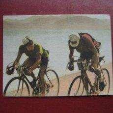Coleccionismo deportivo: CROMO CICLISMO - Nº 110 - LA VUELTA CICLISTA A ESPAÑA 1956 - EDITORIAL FHER. Lote 277144848