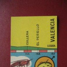 Coleccionismo deportivo: CROMO CICLISMO - Nº 54 ALICANTE VALENCIA - LA VUELTA CICLISTA A ESPAÑA 1956 - EDITORIAL FHER. Lote 277149328
