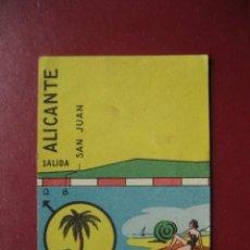 Coleccionismo deportivo: CROMO CICLISMO - Nº 52 ALICANTE VALENCIA - LA VUELTA CICLISTA A ESPAÑA 1956 - EDITORIAL FHER. Lote 277149438