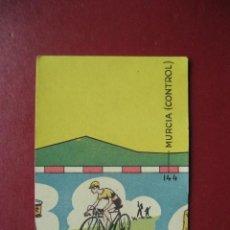 Coleccionismo deportivo: CROMO CICLISMO - Nº 45 ALBACETE ALICANTE - LA VUELTA CICLISTA A ESPAÑA 1956 - EDITORIAL FHER. Lote 277149693