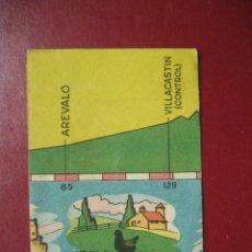 Coleccionismo deportivo: CROMO CICLISMO - Nº 27 VALLADOLID MADRID - LA VUELTA CICLISTA A ESPAÑA 1956 - EDITORIAL FHER. Lote 277150153