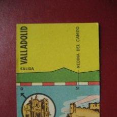 Coleccionismo deportivo: CROMO CICLISMO - Nº 26 VALLADOLID MADRID - LA VUELTA CICLISTA A ESPAÑA 1956 - EDITORIAL FHER. Lote 277150208