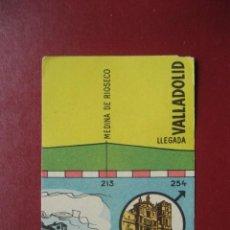 Coleccionismo deportivo: CROMO CICLISMO - Nº 20 OVIEDO VALLADOLID - LA VUELTA CICLISTA A ESPAÑA 1956 - EDITORIAL FHER. Lote 277150338
