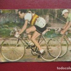 Coleccionismo deportivo: CROMO CICLISMO - Nº 13 - LA VUELTA CICLISTA A ESPAÑA 1956 - EDITORIAL FHER. Lote 277150398