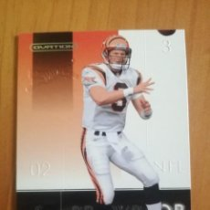 Coleccionismo deportivo: CROMO - NÚMERO 18 - NFL - RUGBY - AÑO 2002 - UPPER DECK, OVATION - JON KITNA. Lote 277846853