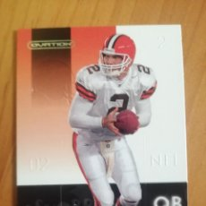 Coleccionismo deportivo: CROMO - NÚMERO 21 - NFL - RUGBY - AÑO 2002 - UPPER DECK, OVATION - TIM COUCH. Lote 277847048