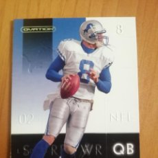 Coleccionismo deportivo: CROMO - NÚMERO 28 - NFL - RUGBY - AÑO 2002 - UPPER DECK, OVATION - MIKE MCMAHON. Lote 277847348