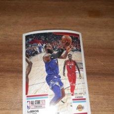 Coleccionismo deportivo: CROMO BALONCESTO NBA, TEMPORADA 2020/21, EDITORIAL PANINI, LEBRON JAMES, Nº 31. Lote 278532208
